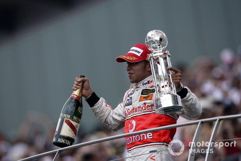 ...y ganó la siguiente carrera, la del GP de Estados Unidos 2007
