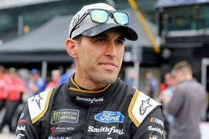 Aric Almirola, Stewart-Haas Racing, Ford Mustang Smithfield / Meijer