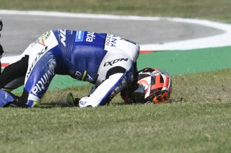 Tito Rabat, Avintia Racing crashes