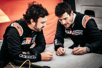Marc Coma, Fernando Alonso, Toyota
