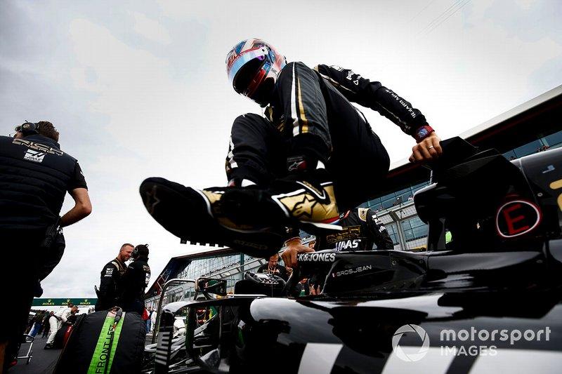 Grosjean abandona o GP da Grã-Bretanha