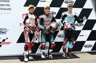 Pole position pour Ayumu Sasaki, SIC Racing Team, devant Kaito Toba, Honda Team Asia, et Marcos Ramirez, Leopard Racing