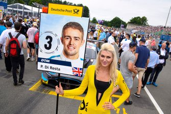 Grid girl, Paul Di Resta, R-Motorsport, atmosphere