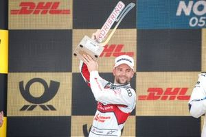 Podium: second place Jamie Green, Audi Sport Team Rosberg