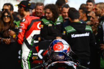 Toprak Razgatlioglu, Turkish Puccetti Racing helmet