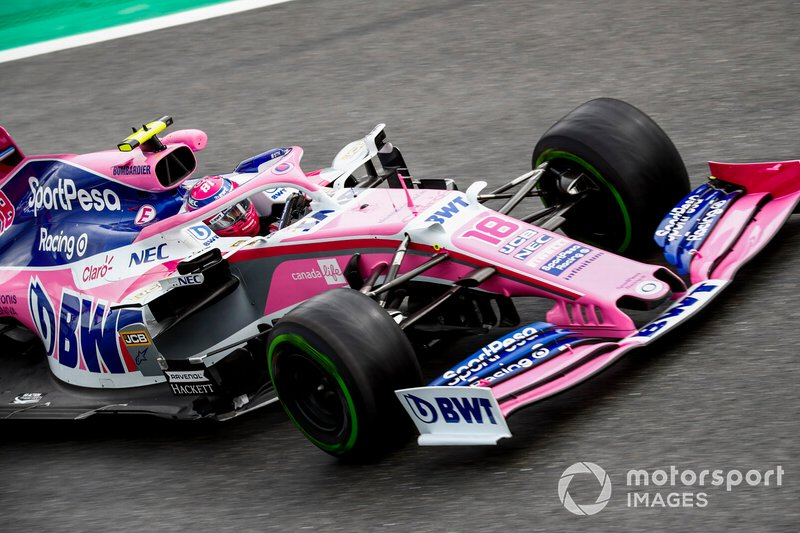 9 - Lance Stroll, Racing Point RP19 - Sem tempo no Q3