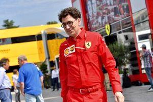 Mattia Binotto, Director Ferrari