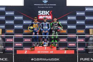 Federico Caricasulo, BARDAHL Evan Bros. WorldSSP Team, Jules Cluzel, GMT94 Yamaha, Lucas Mahias, Kawasaki Puccetti Racing