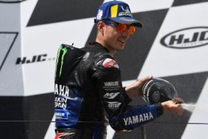Podium: second place Maverick Vinales, Yamaha Factory Racing