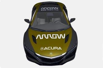 Arrow Acura NSX van Robert Wickens