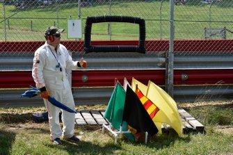 Marshal con le bandiere