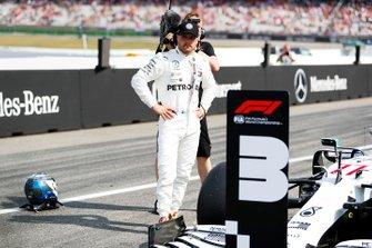 Valtteri Bottas, Mercedes AMG F1, sur la grille