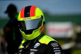 Simon Pagenaud, Team Penske Chevrolet, Eric Crabtree, Fueler