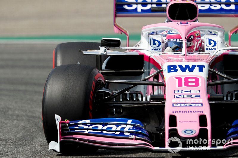15: Lance Stroll, Racing Point RP19, 1'13.450