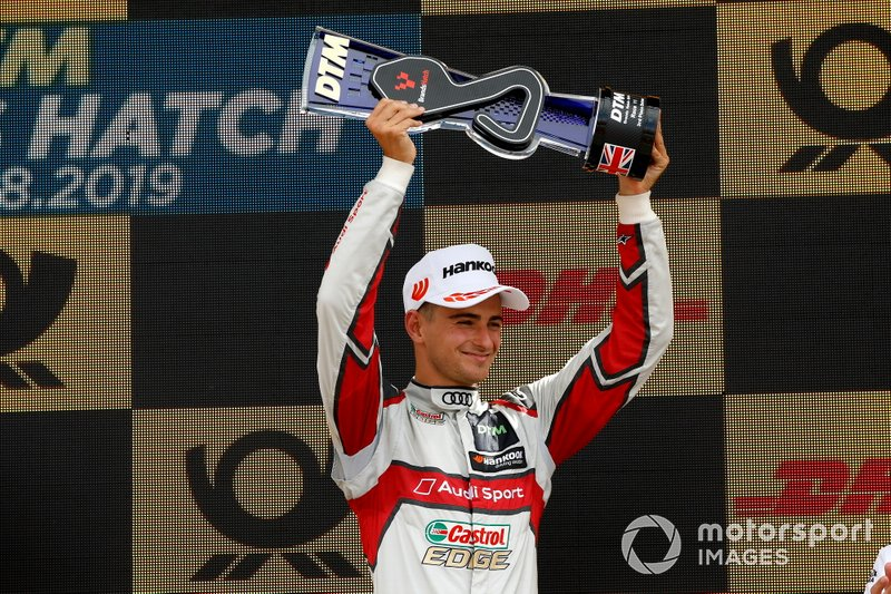 Podium: third place Nico Müller, Audi Sport Team Abt Sportsline