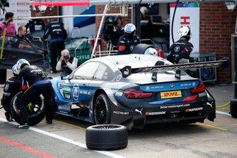 Pit stop, Philipp Eng, BMW Team RBM, BMW M4 DTM