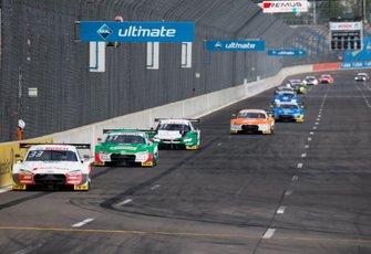 René Rast, Audi Sport Team Rosberg, Audi RS 5 DTM leads