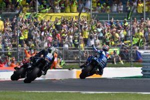 Maverick Vinales, Yamaha Factory Racing, Marc Marquez, Repsol Honda Team, Alex Rins, Team Suzuki MotoGP