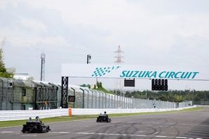 E-Kart-Rennen in Suzuka