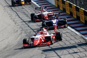 Marcus Armstrong, PREMA Racing and Niko Kari, Trident