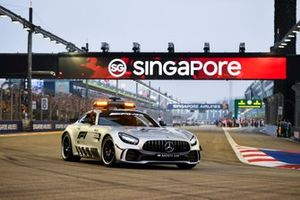 The Safety Car in the drivers parade