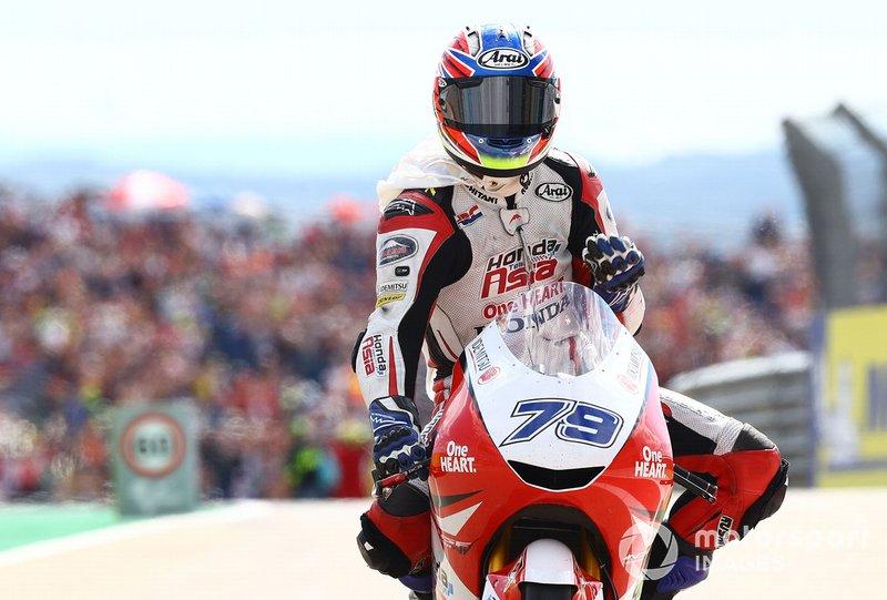 Segundo lugar Ai Ogura, Honda Team Asia