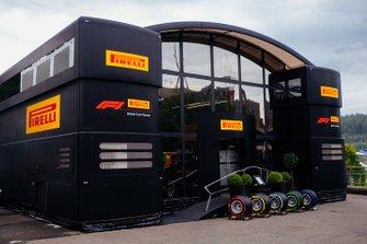 Pirelli hospitality building