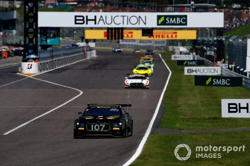 #107 Bentley Team M-Sport Bentley Continental GT3: Steven Kane, Jules Gounon, Jordan Lee Pepper