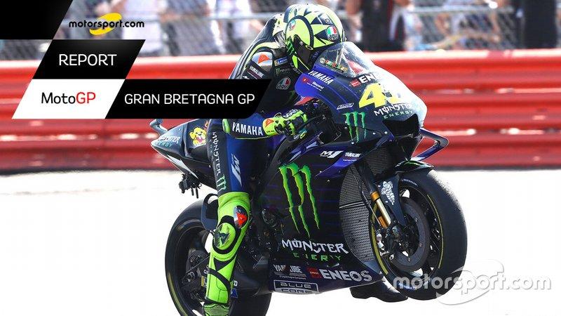 Copertina Report del GP di Gran Bretagna