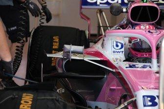 Racing Point RP19 detalle de la carrocería