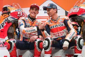 Marc Marquez, Repsol Honda Team; Jorge Lorenzo, Repsol Honda Team