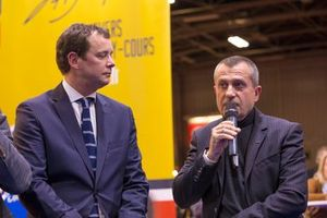 Laurent Vallery-Masson (HVM) et Yannick Dalmas
