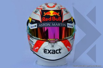 Helm van Max Verstappen, Red Bull Racing