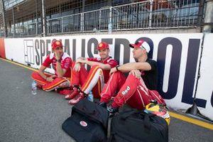 Will Davison, 23Red Racing Ford, Scott McLaughlin, DJR Team Penske, Fabian Coulthard, DJR Team Penske