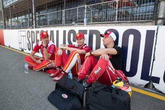 Will Davison, 23Red Racing Ford, Scott McLaughlin, DJR Team Penske, Fabian Coulthard, DJR Team Penske