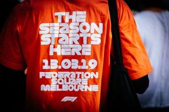 Merchandising del GP de Australia