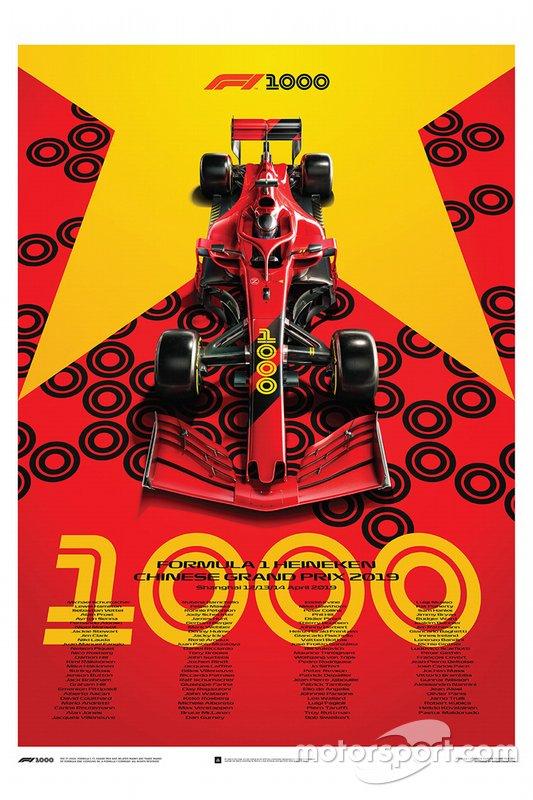Az 1000. nagydíj a Forma-1-ben