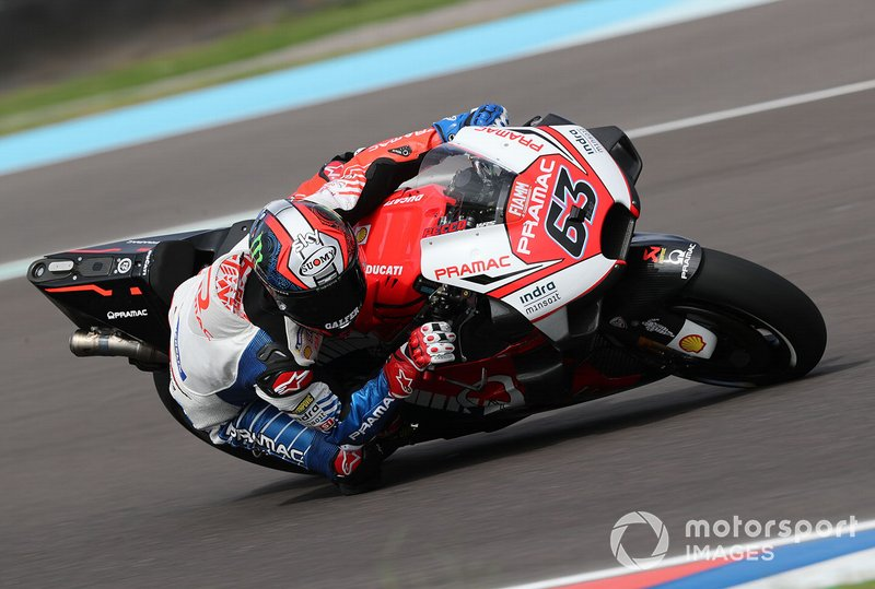 #63 Francesco Bagnaia, Pramac Racing, confirmado para 2020