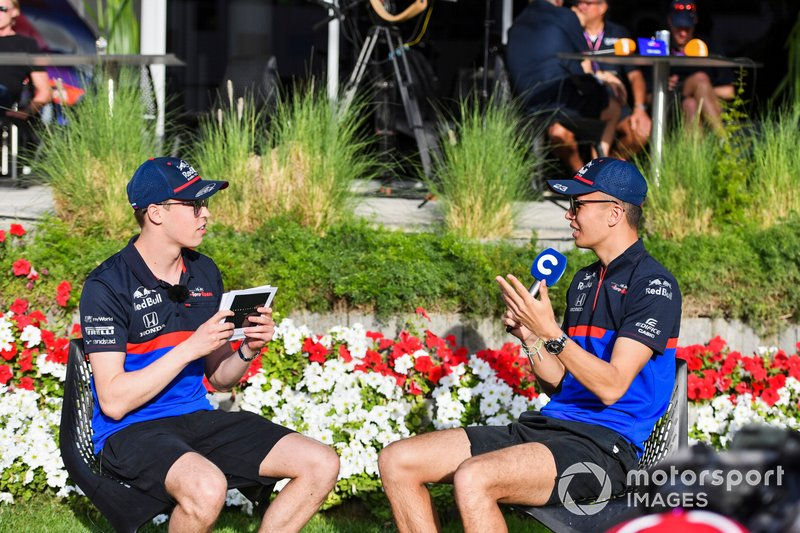 Даниил Квят, Toro Rosso и Александр Элбон, Toro Rosso