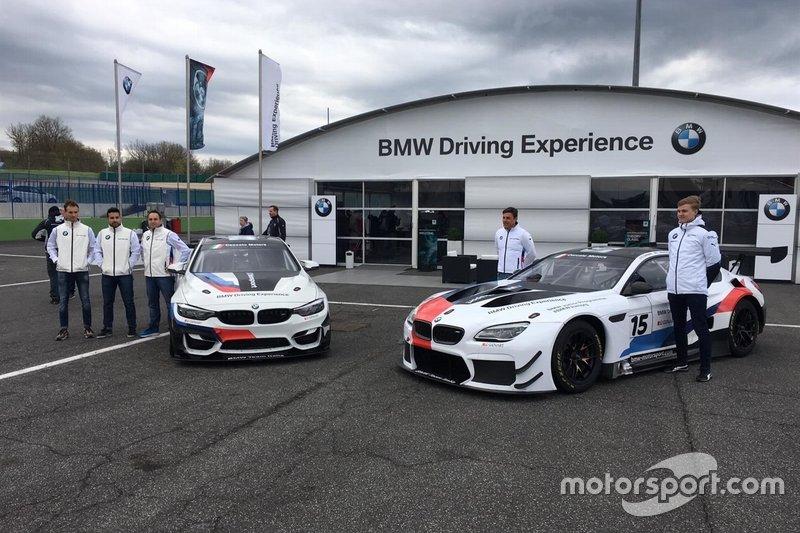 I due equipaggi del Team Ceccato Motors Racing