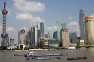Le centre-ville de Shanghai
