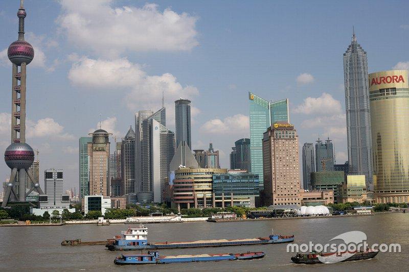 Centro de la ciudad de Shanghai