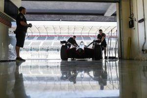 Jose Maria Lopez, GEOX Dragon Racing, Penske EV-3 rolls back into the garage