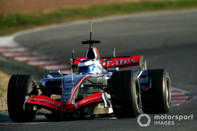 Mika Hakkinen, McLaren, 2006