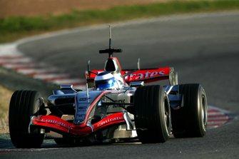 Mika Hakkinen, McLaren MP4-21
