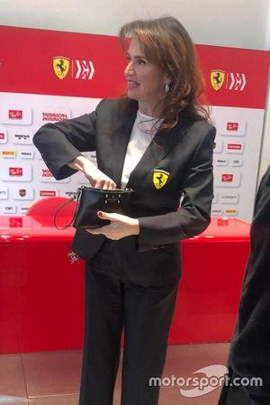 Silvia Hoffer Frangipane, Ferrari