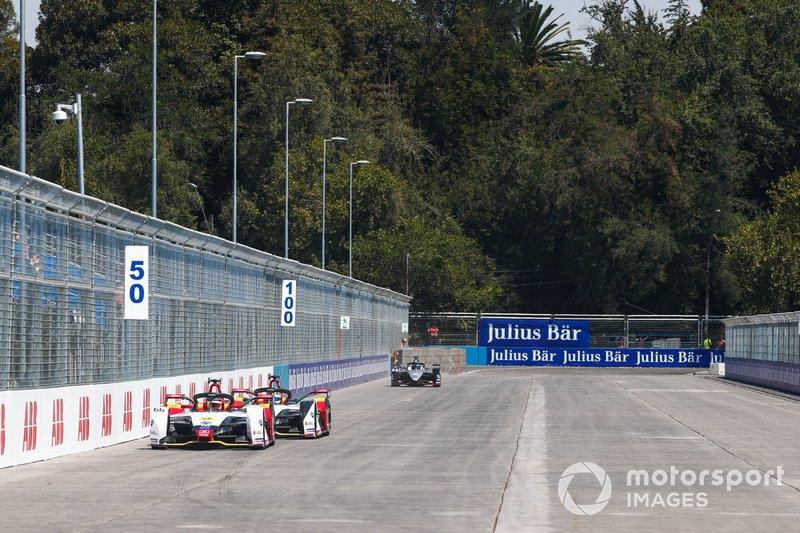 Daniel Abt, Audi Sport ABT Schaeffler, Audi e-tron FE05 Lucas di Grassi, Audi Sport ABT Schaeffler, Audi e-tron FE05, Sébastien Buemi, Nissan e.Dam, Nissan IMO1