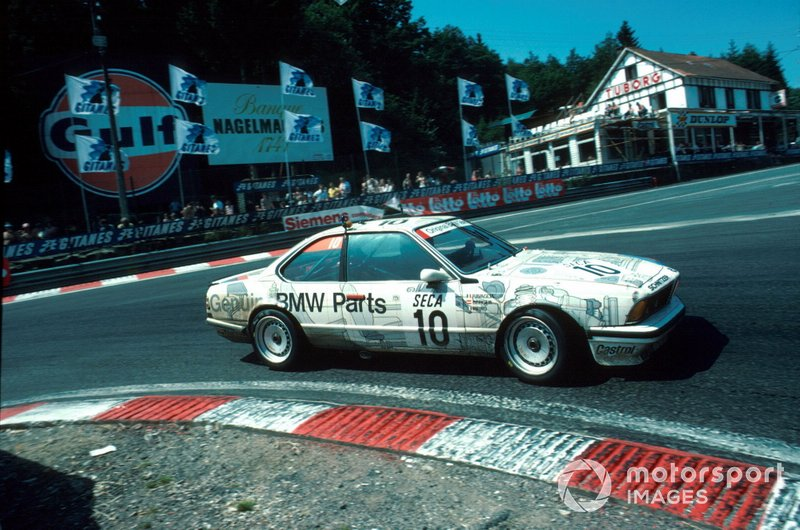 1985 Gerhard Berger, 24h Spa