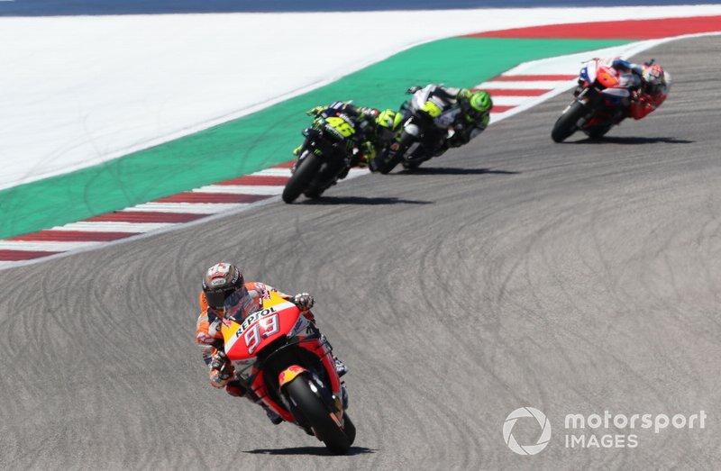A MotoGP também adiou o GP das Américas, que seria a 'nova abertura' da temporada