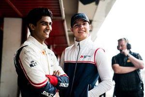 Lirim Zendeli, Sauber Junior Team by Charouz, Fabio Scherer, Sauber Junior Team by Charouz